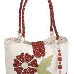 Applique handbag created by Janome UK