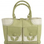 Decorative stitch and applique shopper created by Janome UK