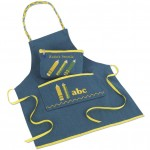 Embroidered apron and pencil case created by Janome UK created on MC12000