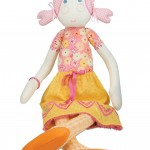 Embroidery and decorative stitch doll created by Janome UK